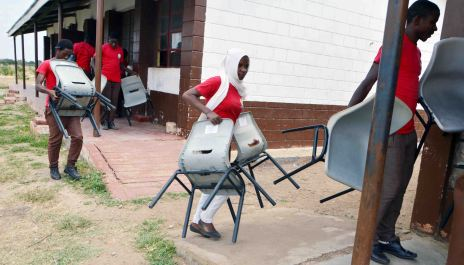Moving the Chairs to the Classroom