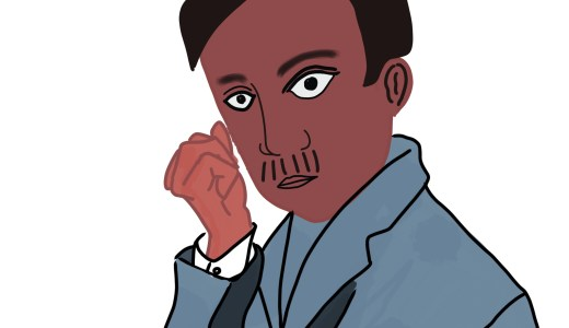 【自称・ナイジェリア人 小説家】(205号室) ナトゥメ・ソーセキさん