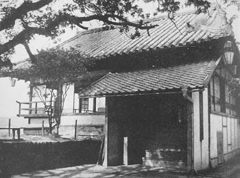 昭和初期の御湯殿裏側