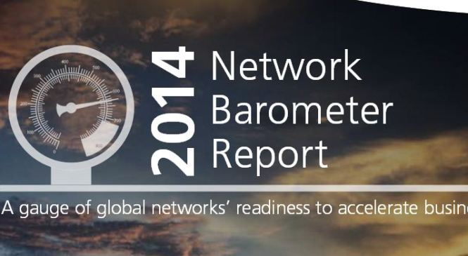 2014 Network Barometer Report, Africa remained relatively stable