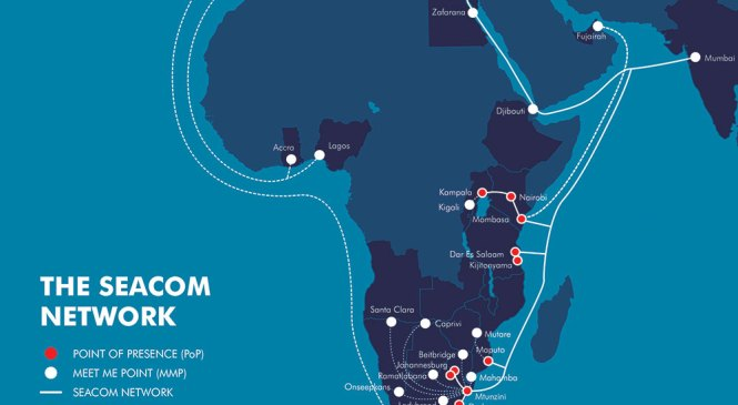 SEACOM Adds Three New Peering Points In Durban, Nairobi and Kampala