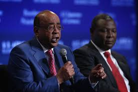 Billionaire Mo Ibrahim tells misinformed American businesses to Google about Africa