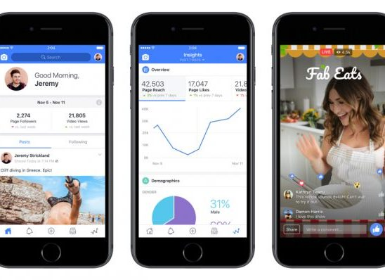 Facebook Introduces New App for Video Makers, Similar to YouTube
