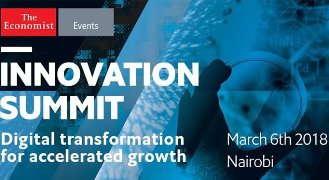 Impact of digital technology on Africa's ecosystem to take centre stage at the Economist's Innovation summit in Nairobi