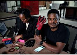 An innovators desire to Understand using gloves