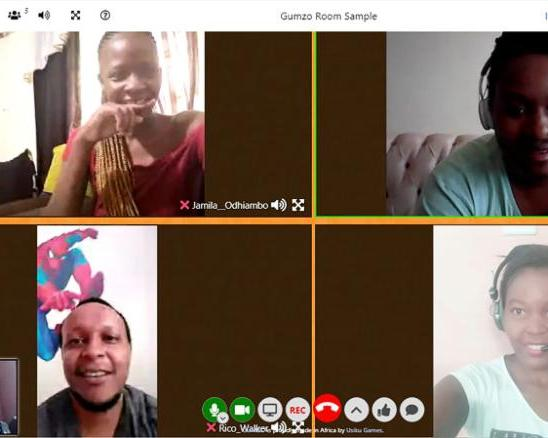 Kenyan company, Usiku Games, has launched a video conferencing platform: Gumzo