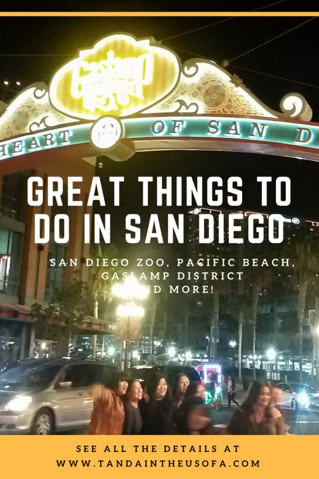 Great things to do in San Dieago