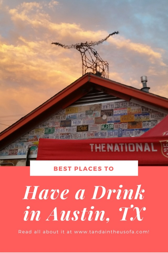 All the best places to have a drink and a good time in Austin, TX.