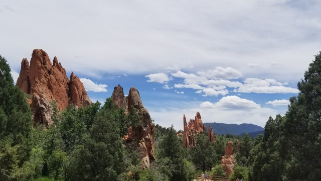 Colorado is the best for free parks like Garden of the Gods