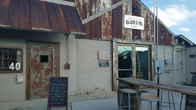 Craft brewery Burial Beer Co in Asheville, NC