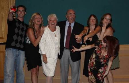My silly family at their 50th Wedding Anniversary in Daytona Beach