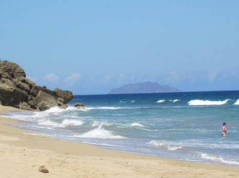 Catch some waves and go swimming at Sandy Beach