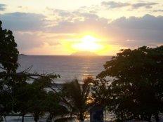 Sunset from Calypso Bar