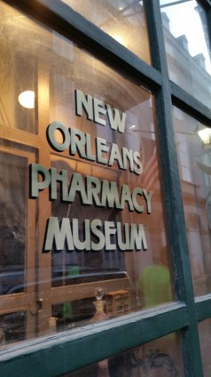 The haunted New Orleans Pharmacy Museum