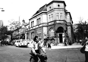 QIngdao Straßenszene