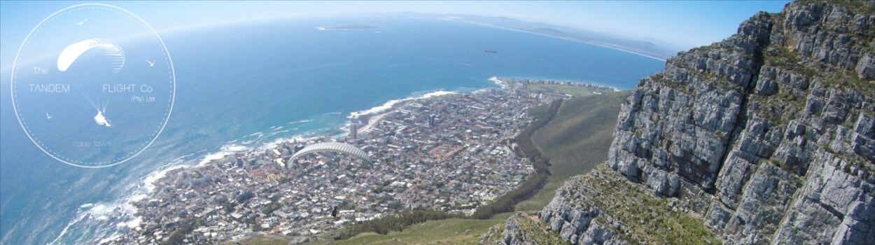 seapoint view paragliding