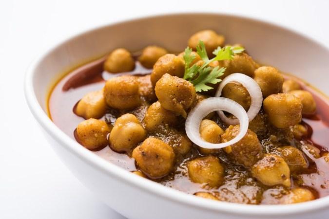 Punjabi Spiced Chickpeas Curry
