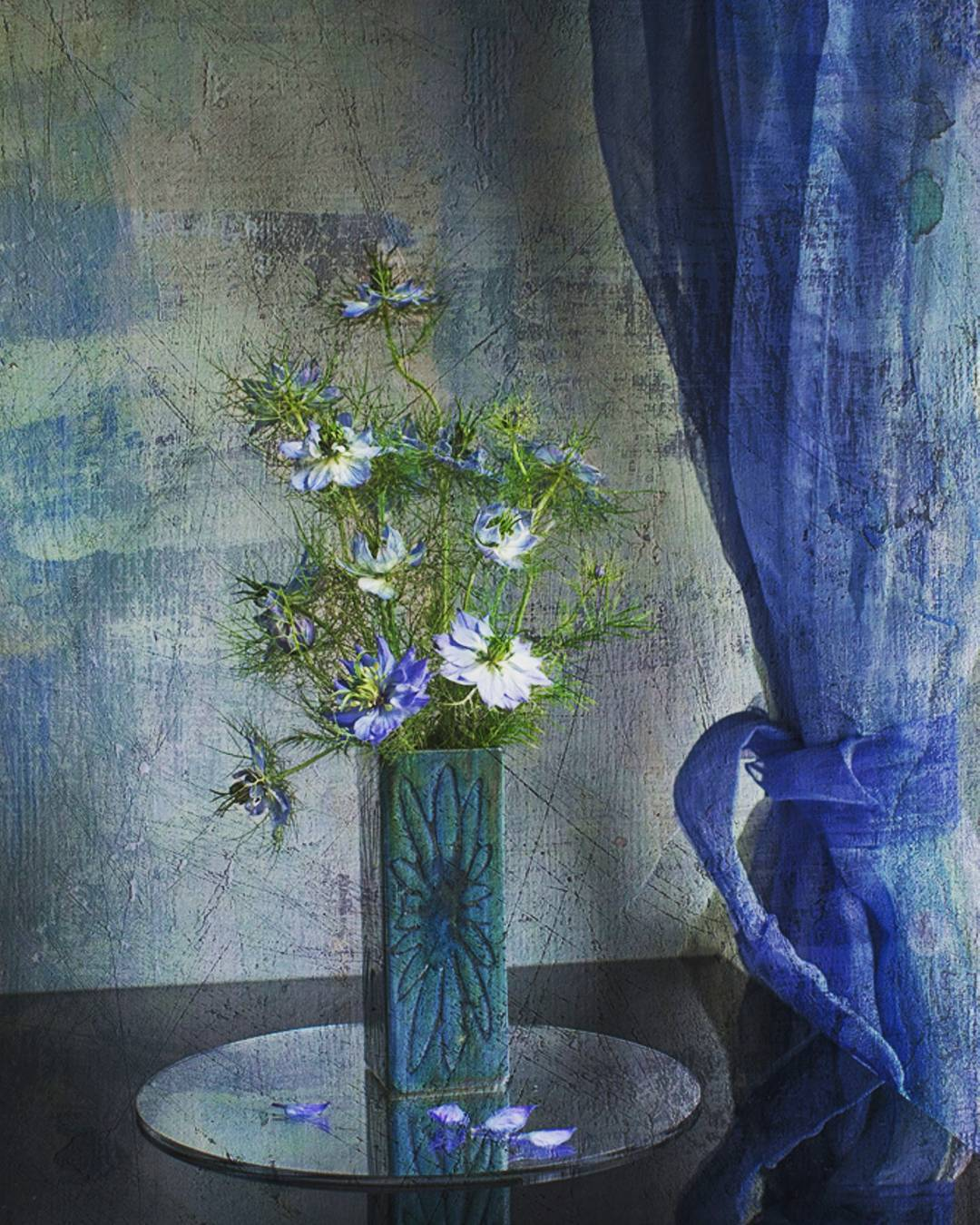 And relax! This is Cornflower Still Life by the veryhellip