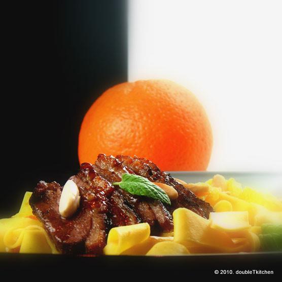 Pačja prsa u umaku od naranče