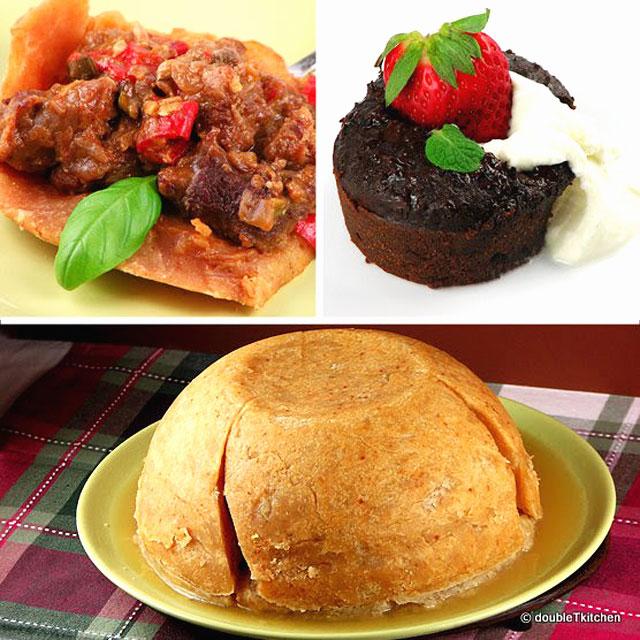 Traditional British Pudding – Daring Bakers' Challenge – April 2010