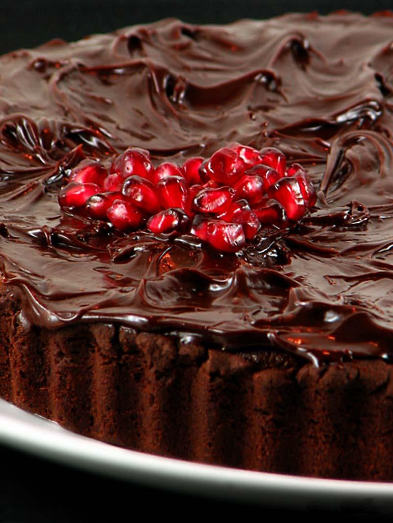 Čokoladni mak tart