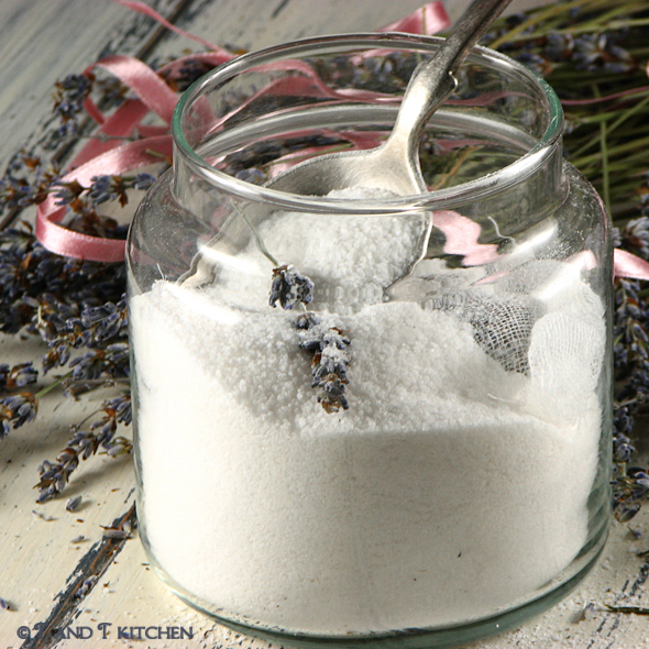 Šećer s lavandom