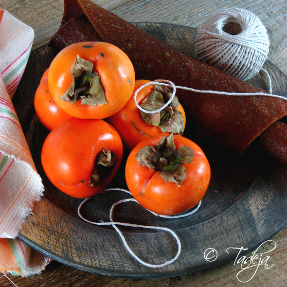 persimmon fruit leather