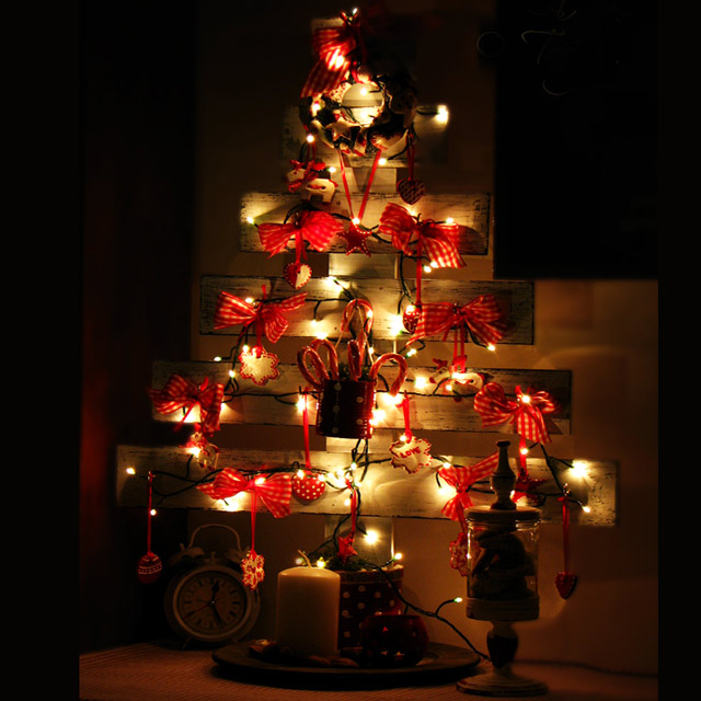 Božićno drvce od letvica