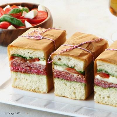 Prešani talijanski sendviči