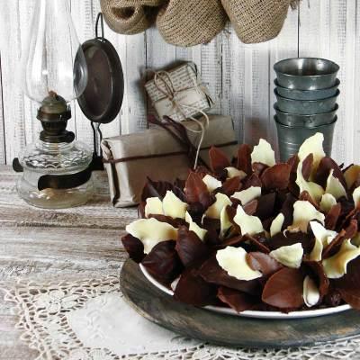 Jestivi čokoladni adventski vijenac