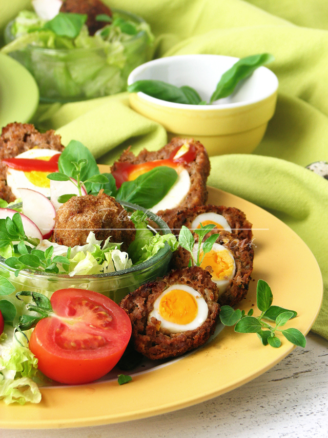 Scotch eggs - mesne pisanice 3