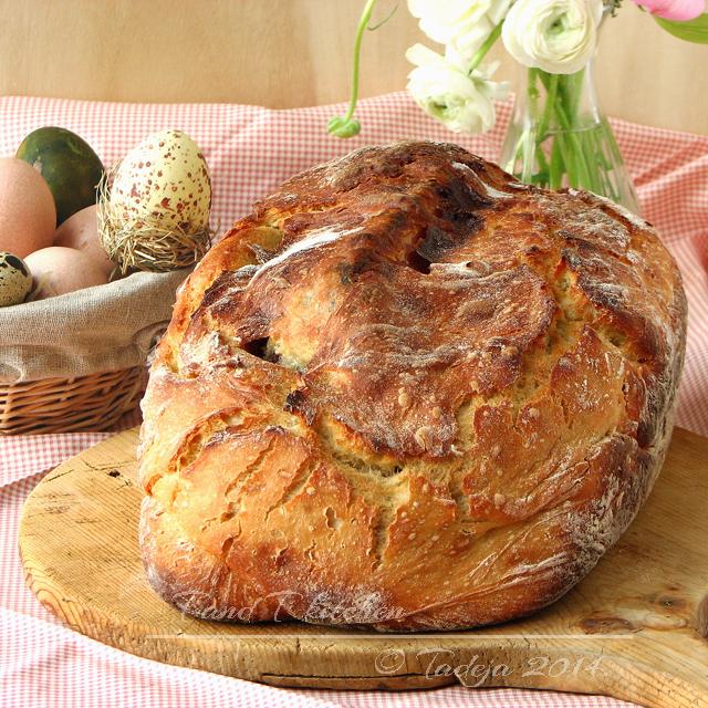 Šunka u kruhu koji se ne mijesi