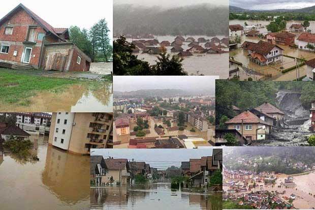 Pomoć stradalima u poplavama – Hrvatska, BiH, Srbija