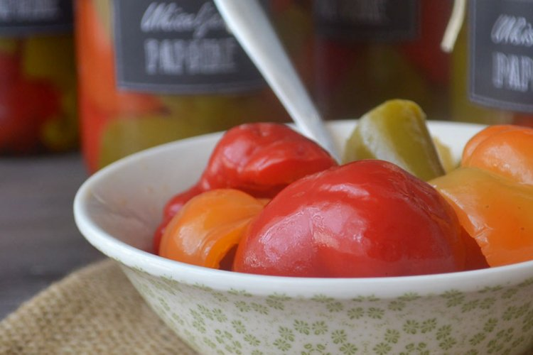 Ukiseljene paprike – zimnica