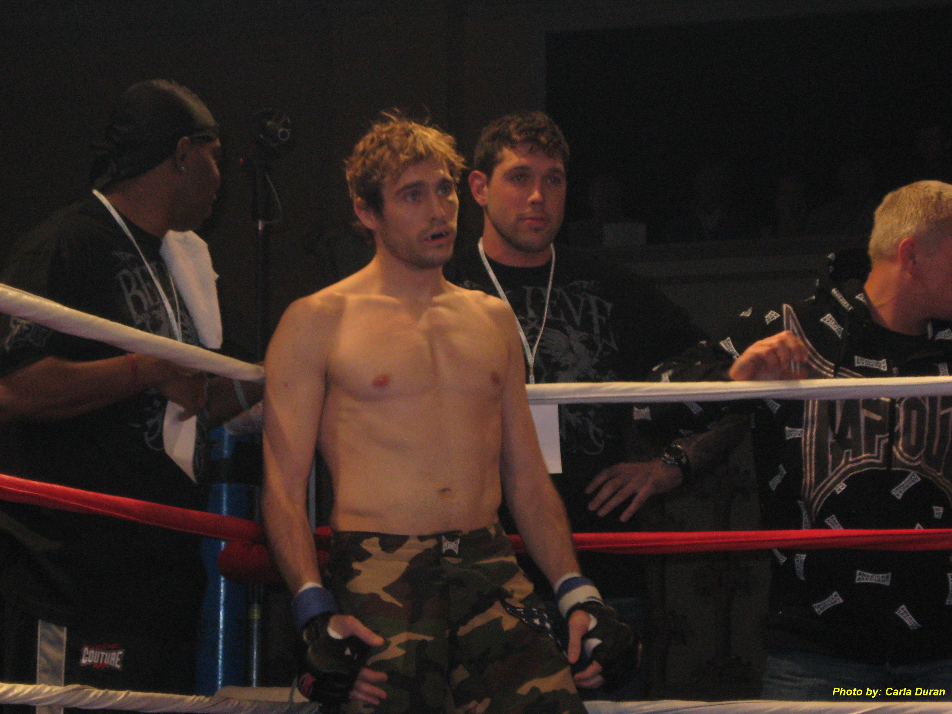 Second generation fighter Ryan Couture