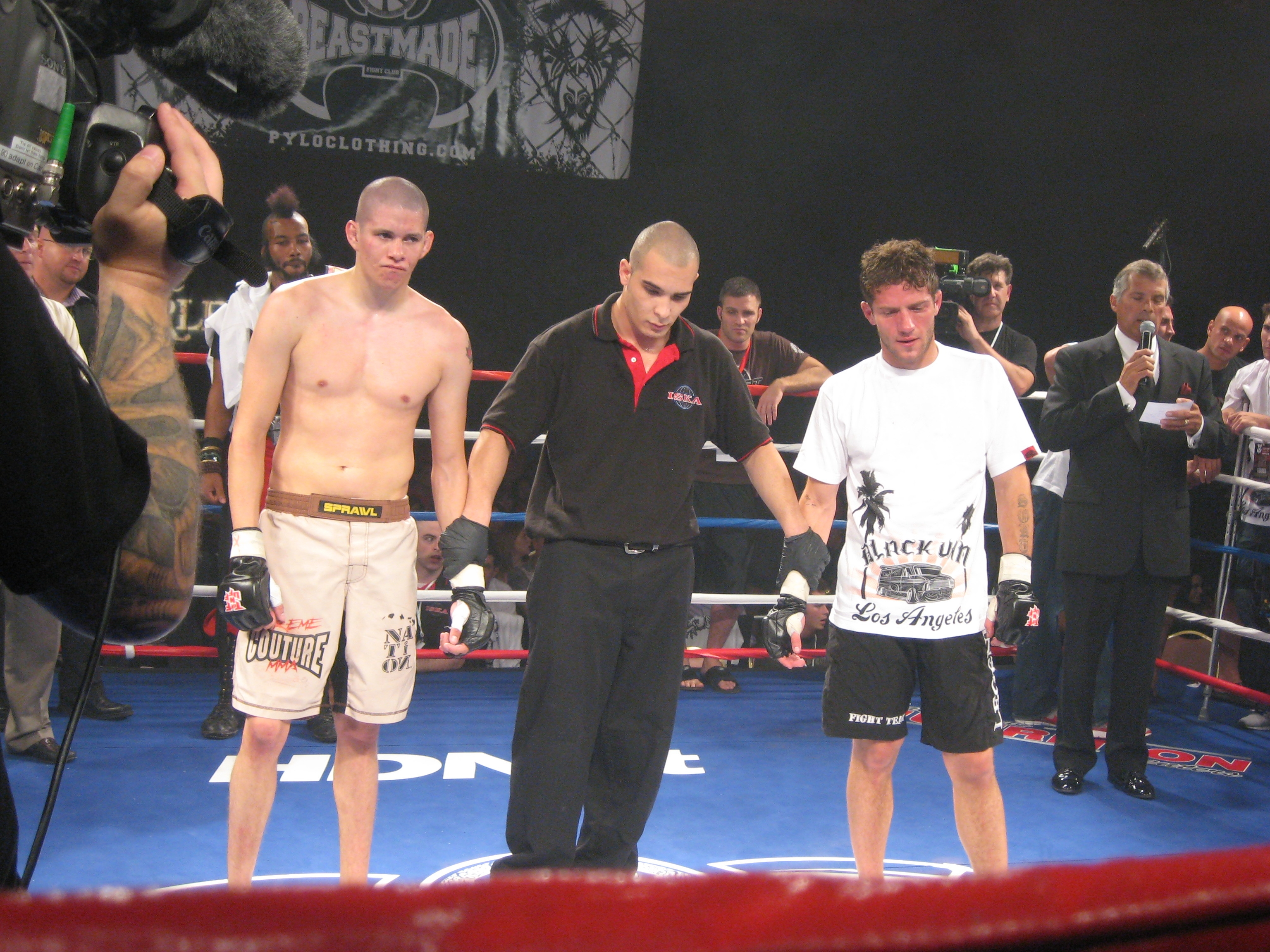 The third match between Chris Brady and Jimmy Jones ended in controversy.