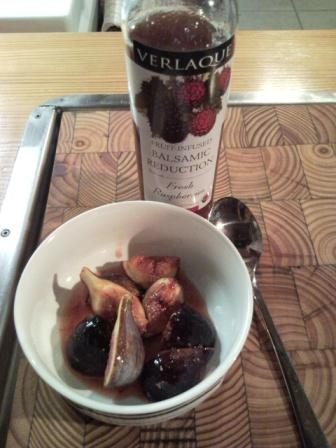 """Fresh Figs With Verlaque Raspberry Balsamic Reduction Figs Done Two Ways"