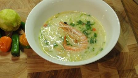 """Chilli Prawn Soup"""
