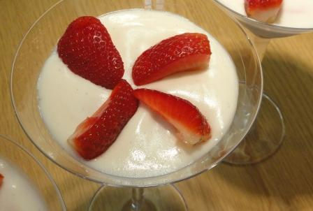 White Marshmallow And Cointreau Mousse