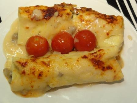 Oyster Mushroom Cannelloni