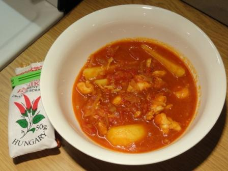 Crayfish Goulash In Answer To Friday's Food Quiz Number 54