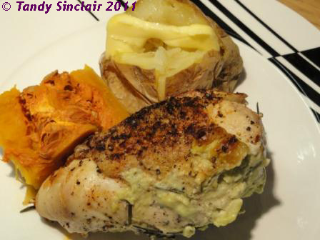 Chicken Stuffed With Avocado
