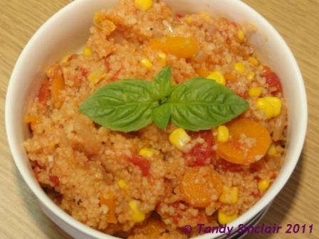 Vegetable Cous Cous