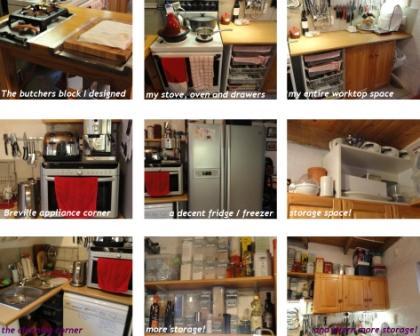 my kitchen July 2011