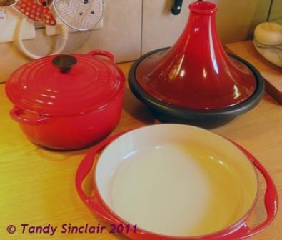 Le Creuset Cherry Tagine