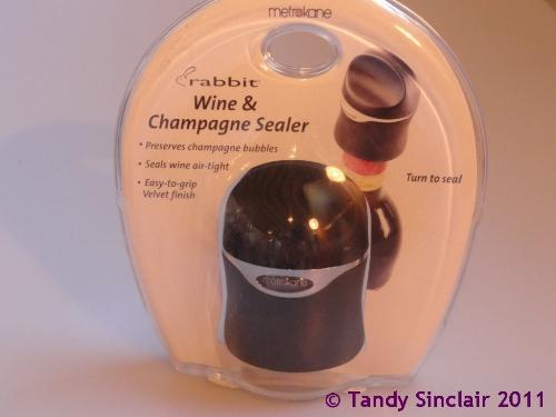 rabbit wine and champagne sealer