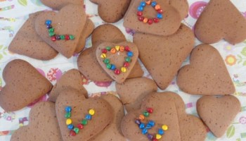 Biscuits For Valentines Day