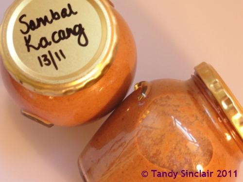 Sambal Kacang Peanut Sauce