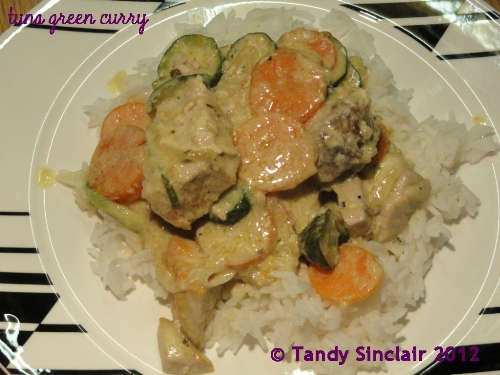 Tuna Green Curry