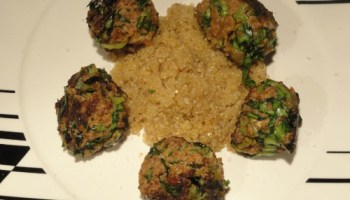 Pak Choi And Carrot Meatballs